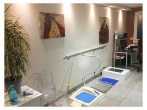 salle de soins de pédicurie podologie de catherine MARTIN DESFARGES 9 rue philisbourg BRUNOY