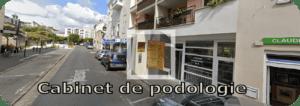 entrée de la résidence cabinet podologie pedicurie rue philisbourg BRUNOY